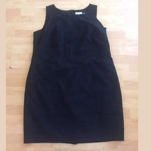 Calvin Klein black shift dress size 20w